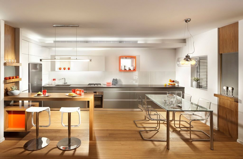 Methods of Zoning in Combined Kitchen and Living Room ...